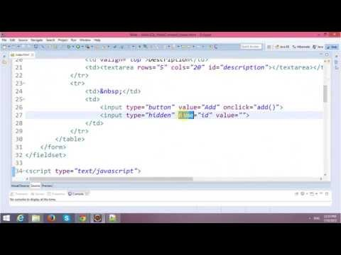 HTML5 Tutorial - Web SQL Databases