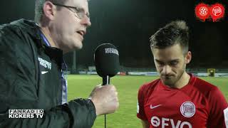 INTERVIEWNACHLESE UND PK NACH ASTORIA WALLDORF VS KICKERS OFFENBACH