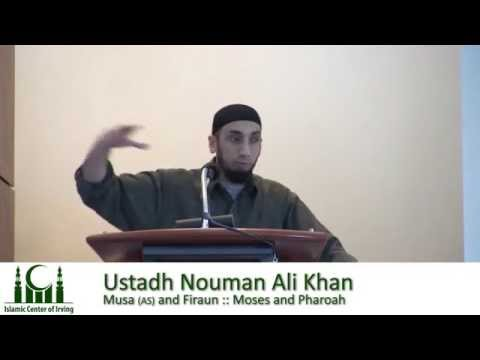Musa (AS) and Firaun (Moses and Pharoah) - Nouman Ali Khan (Full Lecture)