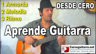 Como tocar Guitarra Facil - Principiantes