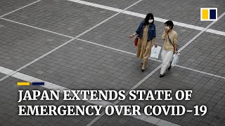 Coronavirus: Japan extends its national state of emergency until end of May