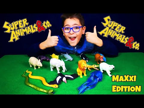 SUPER ANIMALS &CO. MAXXI EDITION - Leo Toys