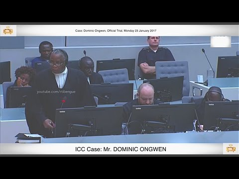 (PART 2) Ongwen Trial:  23 January 2017