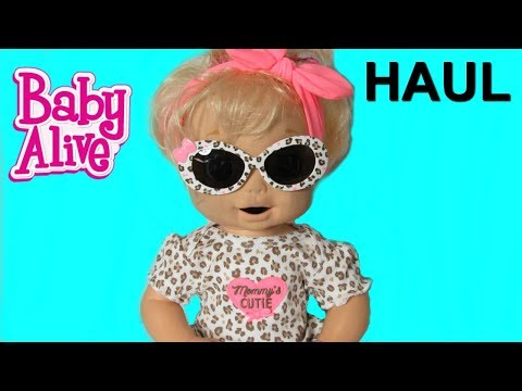 BABY ALIVE 2006 Soft Face London Gets New Clothes From Walmart!  Walmart Doll Haul!