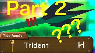 Trying To Get Trident Part 2 | Roblox | Power Simulator