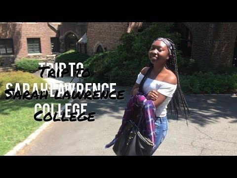 Vlog - Trip To Sarah Lawrence College // SarahAtimah