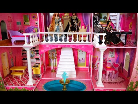 Kidkraft mansion dollhouse once upon a time princess ca doovi - The dollhouse from fairy tales to reality ...