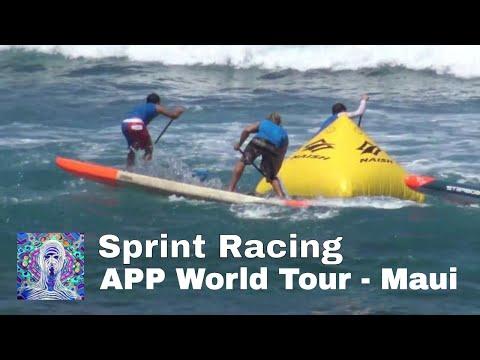 Sprint Racing at Ho'okipa Beach Park - APP World Tour