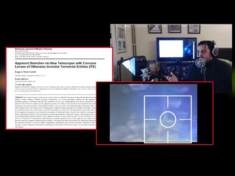 Invisible Entities observed and recorded in the air by scientists