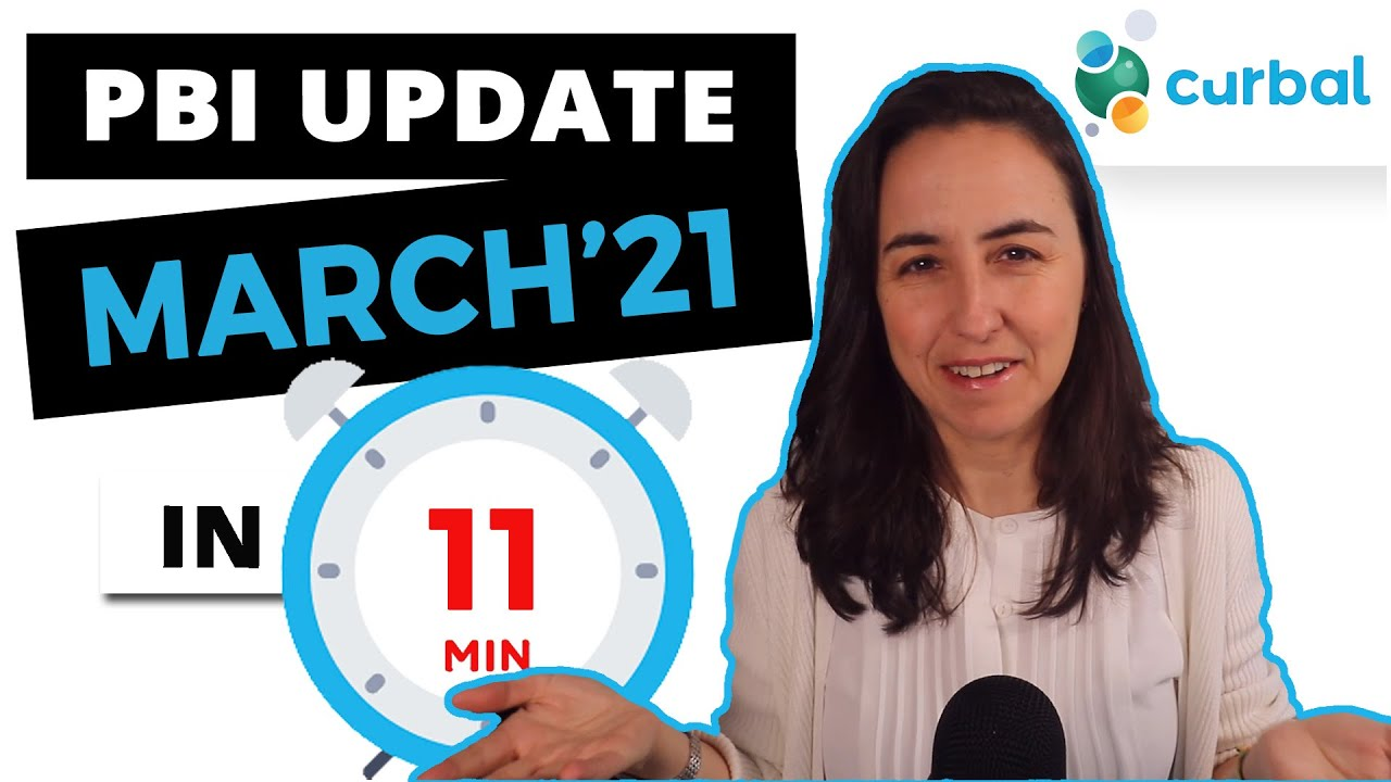 Summary update on Power BI Desktop, Service and Others for March 2021