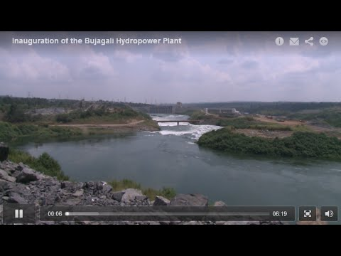 Inauguration of the Bujagali Hydropower Plant, Jinja, Uganda