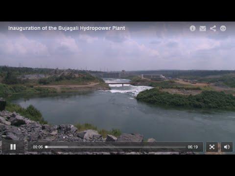 Inauguration of the Bujagali Hydropower Plant, Jinja, Uganda