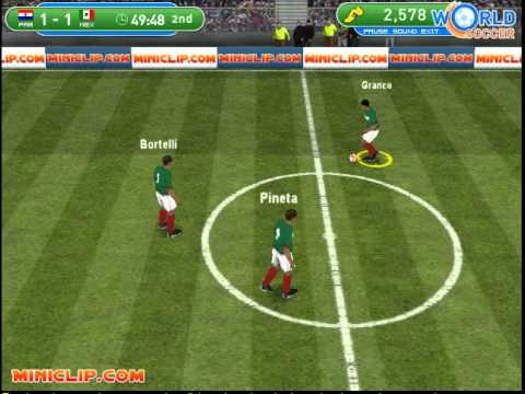 Juego Fútbol Mundial Youtube