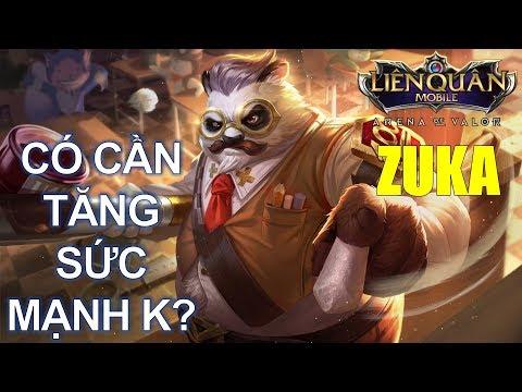 Giáo sư Sừng Sỏ ZUKA có cần tăng sức mạnh trong phiên bản mới Happy new year k? Arena of Valor Zuka