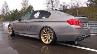 700HP BMW M5 F10 BimmerTuning vs RENNtech CLS63 vs AMG GT S!