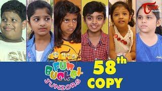 Fun Bucket JUNIORS | Episode 58 | Kids Funny Videos | Comedy Web Series | By Sai Teja - TeluguOne