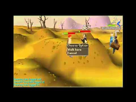 Runescape 60 Attack Pure Hampers Pk Video 1