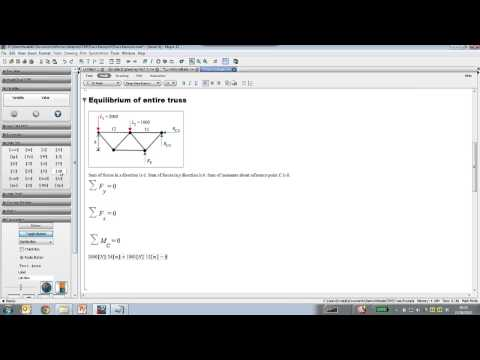 Clickable Engineering Math: Interactive Engineering Problem Solving