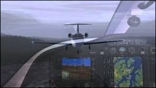 Flight1 Cessna Mustang landing at Ketchikan, AK (PAKT) (FSX)