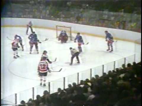 Philadelphia Flyers vs NY Rangers. 05 may 1974