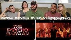 PSYCHO SAIYAAN | Saaho | Prabhas | Shraddha Kapoor | Music Video Reaction!