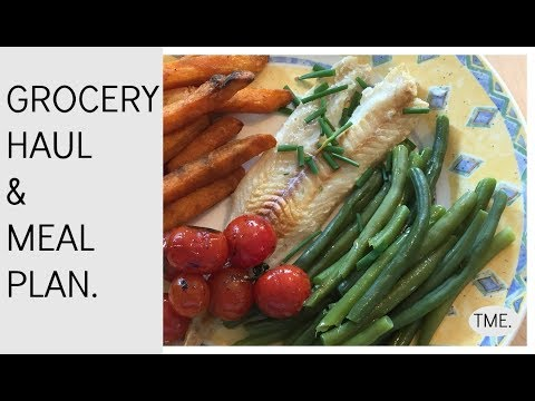 Grocery Haul & Gluten Free Meal Plan | ThroughMummysEyes