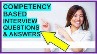 Download lagu 7 COMPETENCY-BASED Interview Questions and Answers (How To PASS Competency Based Interviews!)