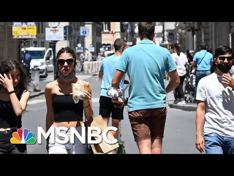 Chris Hayes: Trump's COVID-19 Failures Make U.S. An Object Of Pity Around The World | MSNBC