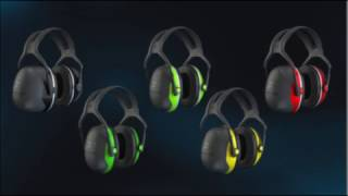 3m ear defenders x1a universal black green