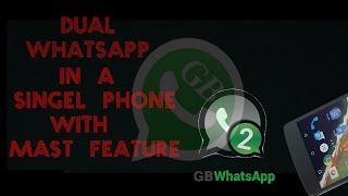 Did you use? GBWHATSAPP with unbelievable features 😍😍