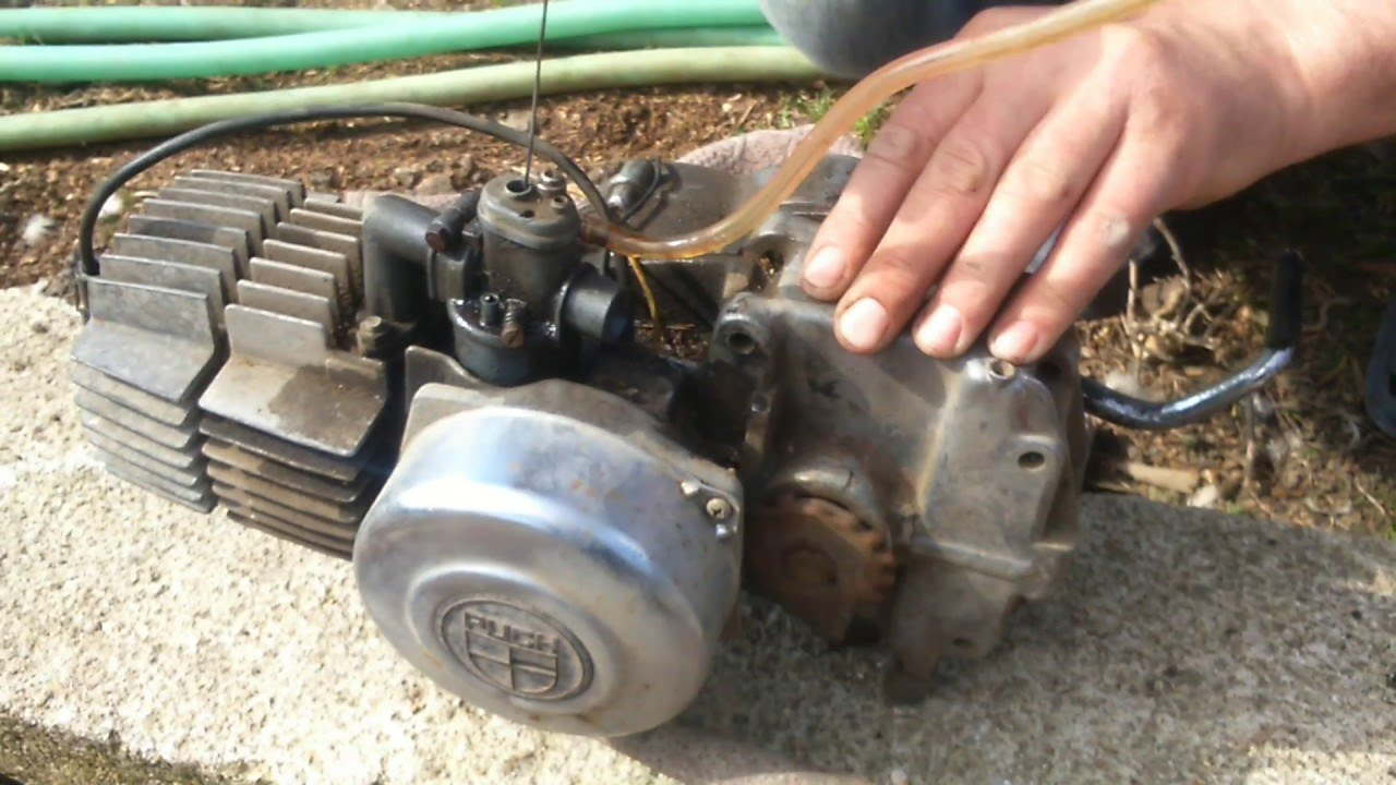 motor puch e50 youtube
