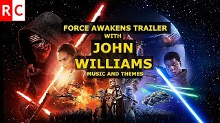Star Wars 7 trailer#3 with JOHN WILLIAMS music