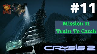 Crysis 2: Mission - Train To Catch Best Gameplay Walkthrough