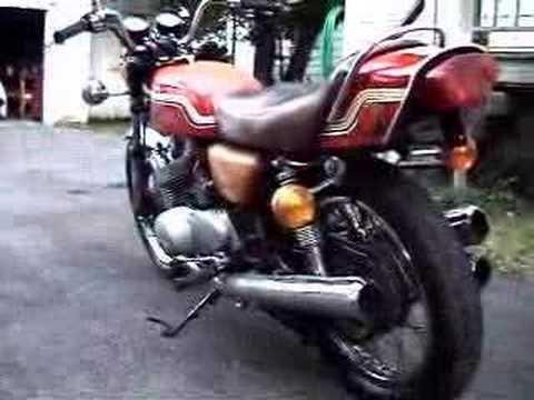 1972 Kawasaki S2 Triple