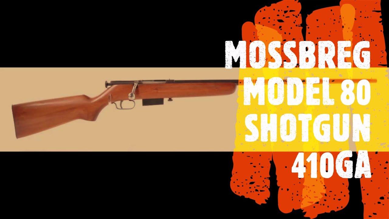 Mossberg model 80 410 shotgun