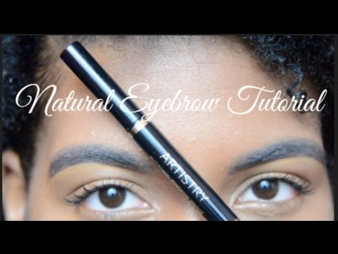 EASY Natural Eyebrow Tutorial | Artistry