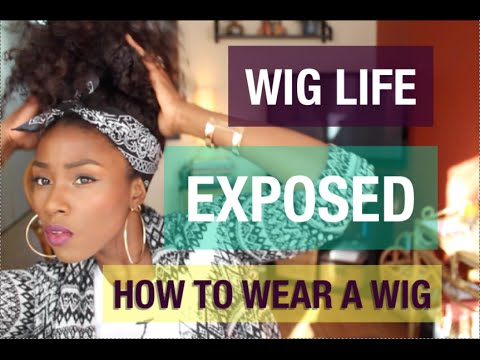 HOW TO WEAR A WIG| BRAID PATTERN FOR A WIG | HOW TO LAY A CLOSURE FLAT |  PROTECTIVE STYLE