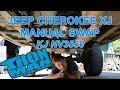 Ironman4x4fab: Jeep Cherokee XJ NV3550 Manual Swap