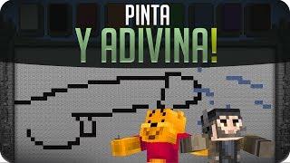 Pinta y Adivina!! Equisde :D | Minecraft
