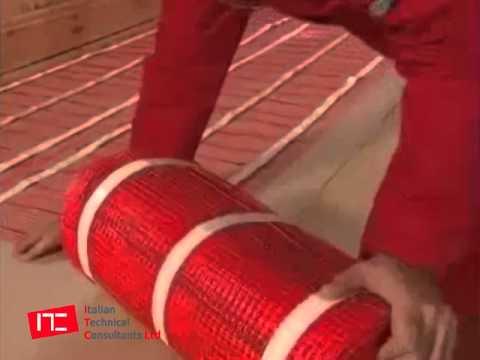 03 riscaldamento elettrico a pavimento installazione for Riscaldamento elettrico