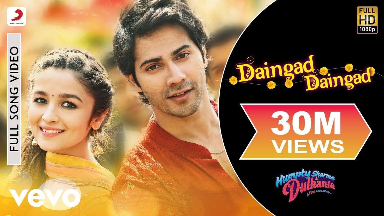 Download Daingad Daingad Video - Humpty Sharma Ki Dulhania | Varun, Alia
