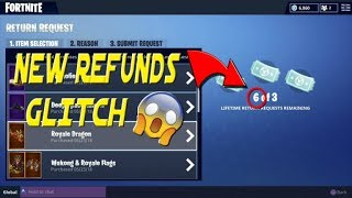 'NOUVEAU' COMMENT À GET UNLIMITED REFUNDS IN FORTNITE BATTLE ROYALE
