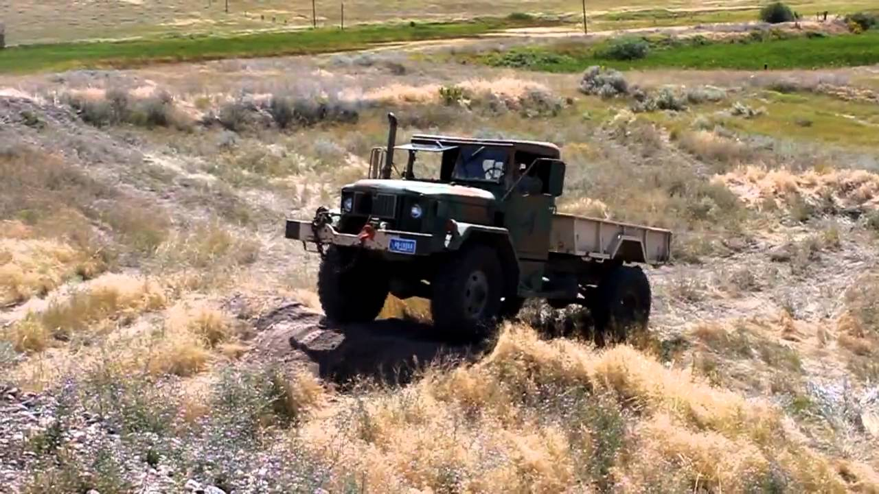 Bobbed Deuce And A Half Offroad M35a2 Youtube