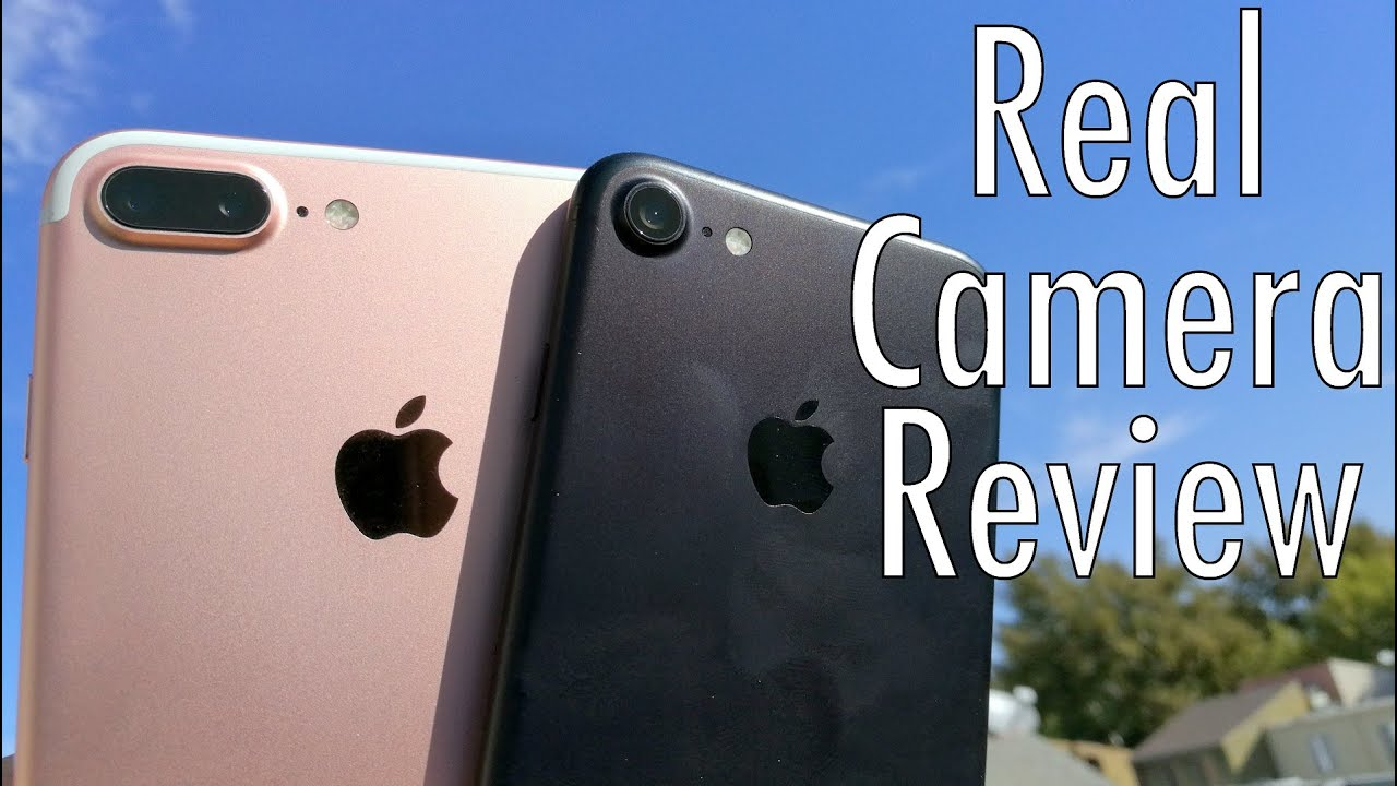 Apple iPhone 7 Plus Real Camera Review (and iPhone 7 too!) - YouTube