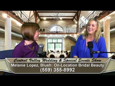 Melanie Lopez of Blush: On-Location Bridal Beauty on Central Valley Wedding & Special Events