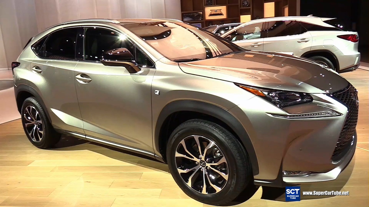 2017 lexus nx turbo f sport exterior and interior walkaround 2017 detroit auto show youtube. Black Bedroom Furniture Sets. Home Design Ideas