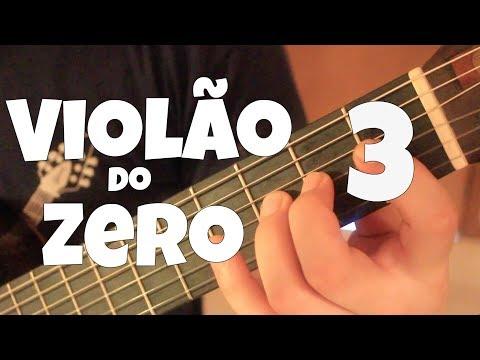 Violão do Zero com Fabio Lima (Escala Menor e Acordes Menores) Aula 3