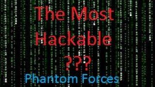   Most Hackable Roblox Server?   Phantom Forces EP.1 