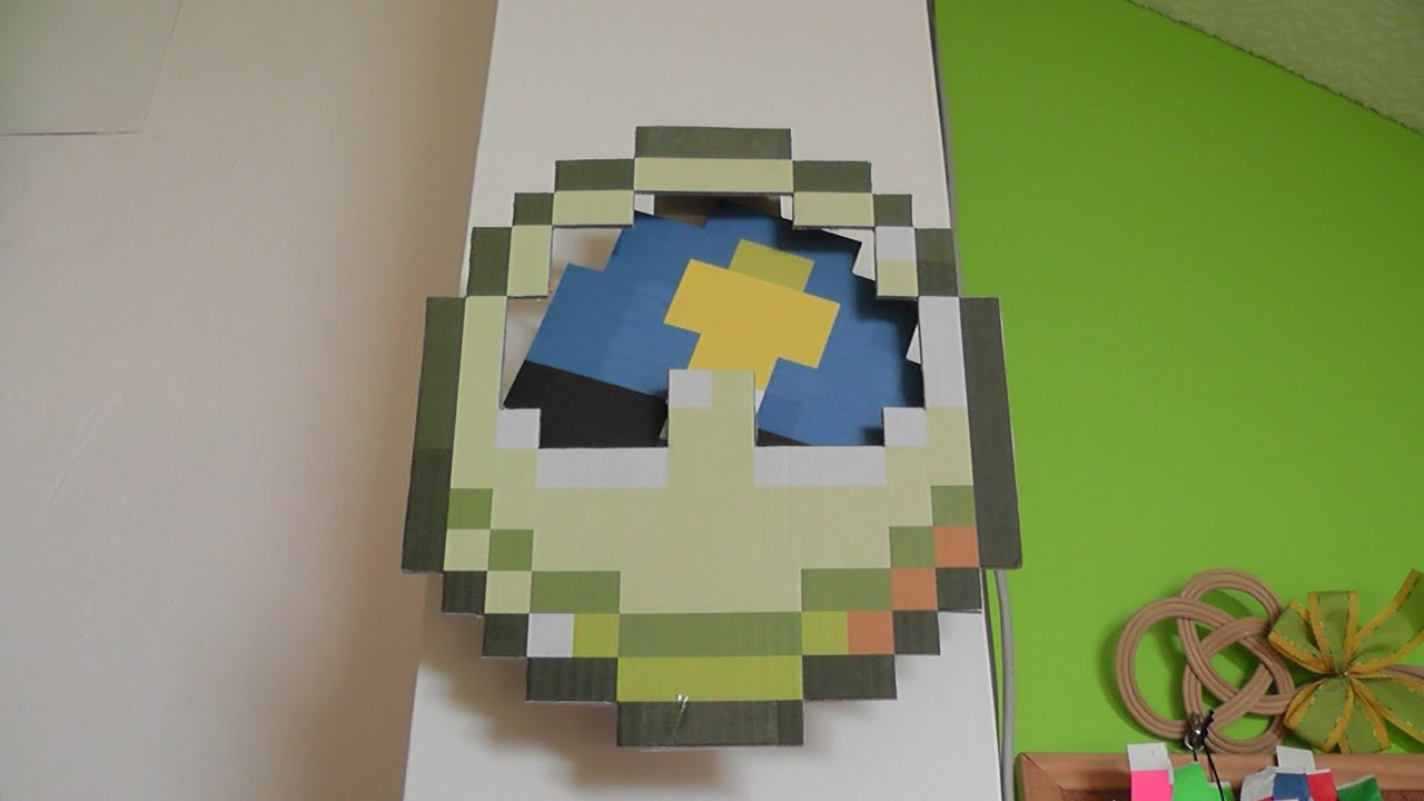 minecraft paper clock youtube. Black Bedroom Furniture Sets. Home Design Ideas
