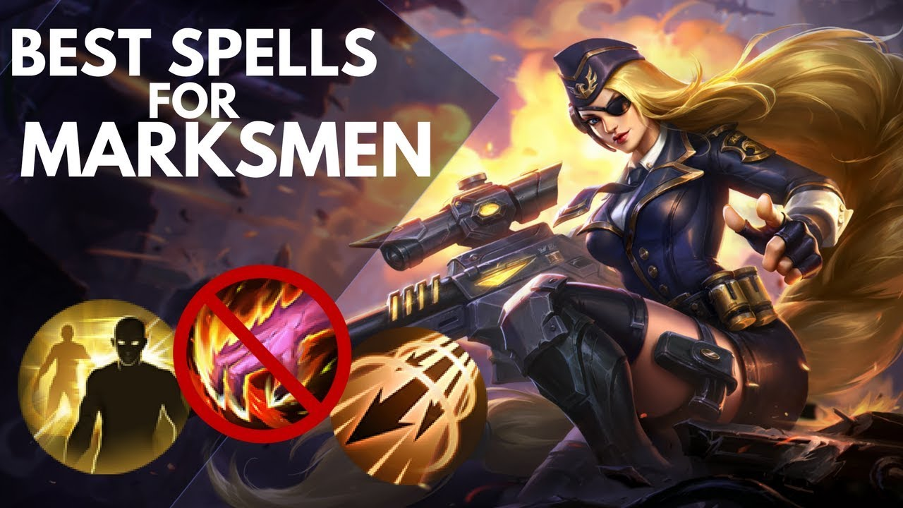 BEST BATTLE SPELL FOR EVERY MARKSMAN HERO | WTFacts | Mobile Legends